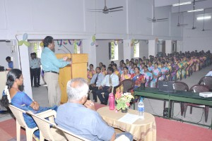 Guest Lecture on Recent Trends in IT.