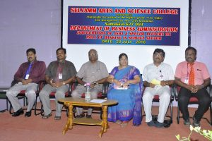 Inauguration of Association of Selvamm Business Administration &  Special Lecture on Role of Banking in Service Sector.