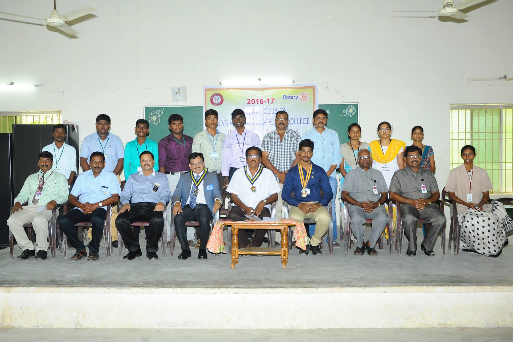 Rotary Club Inaugural Ceremony and Blood Donation Camp.