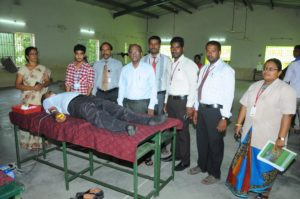 Blood Donation Camp.