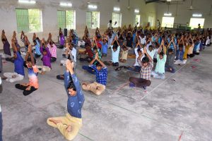 International Yoga Day Celebration.