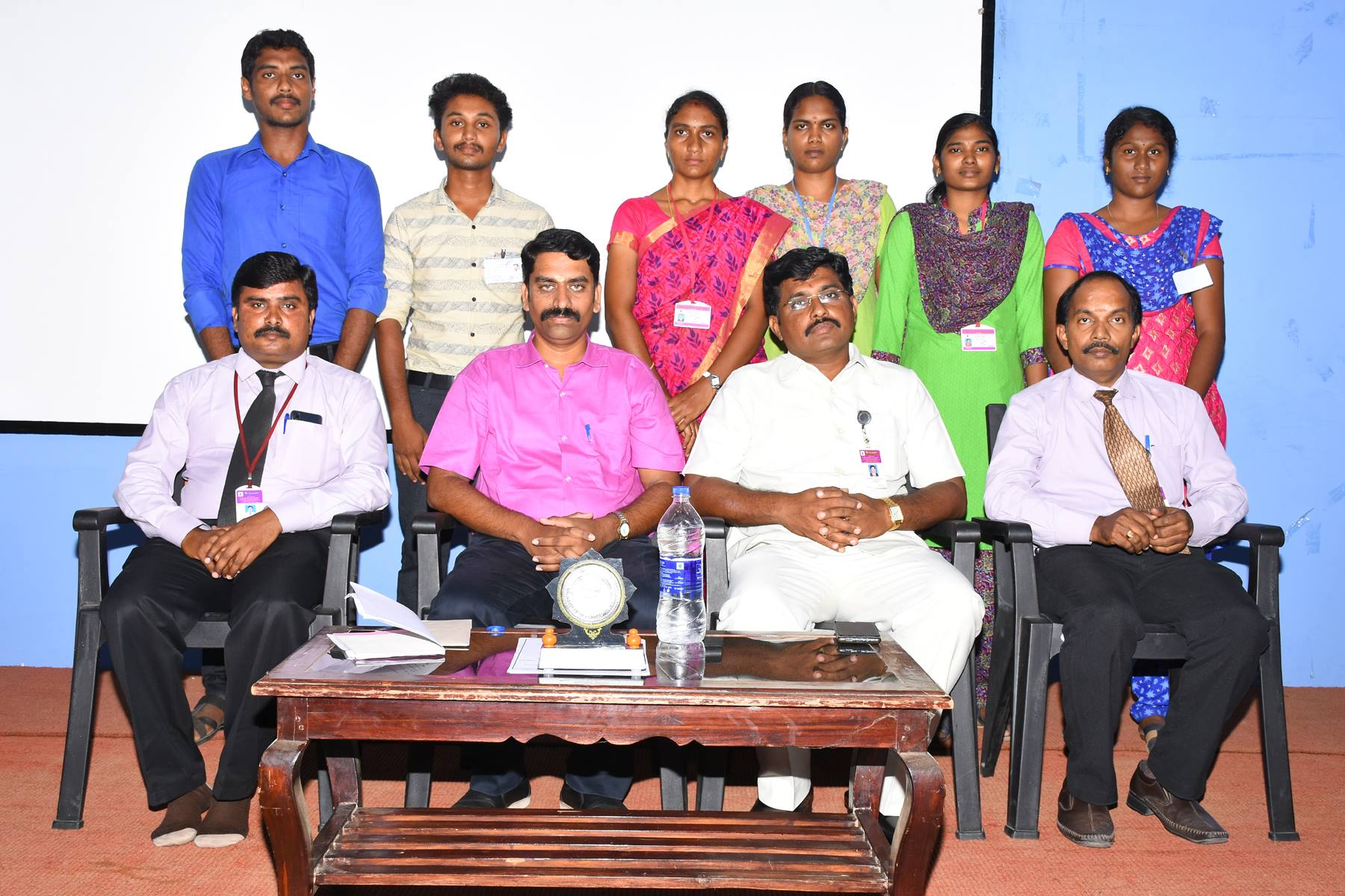 Inauguration of English Literary Association.