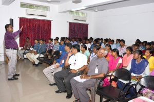 Special Lecture on Qualities of Leaders.