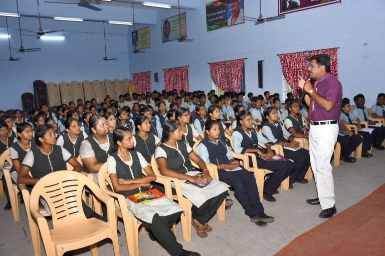 Stress Management & Personality Development lecture to school students