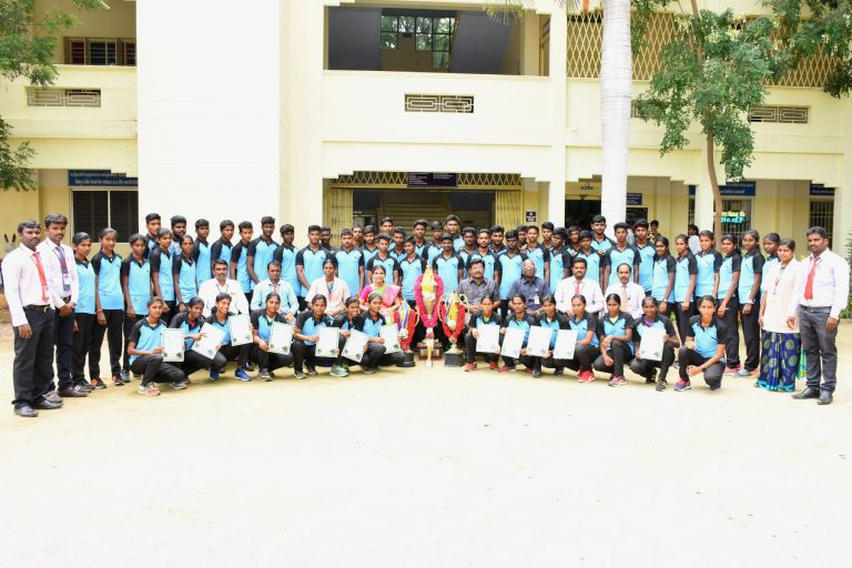 We bagged overall Championship for the 15th Consecutive Year in Periyar University Athletics.