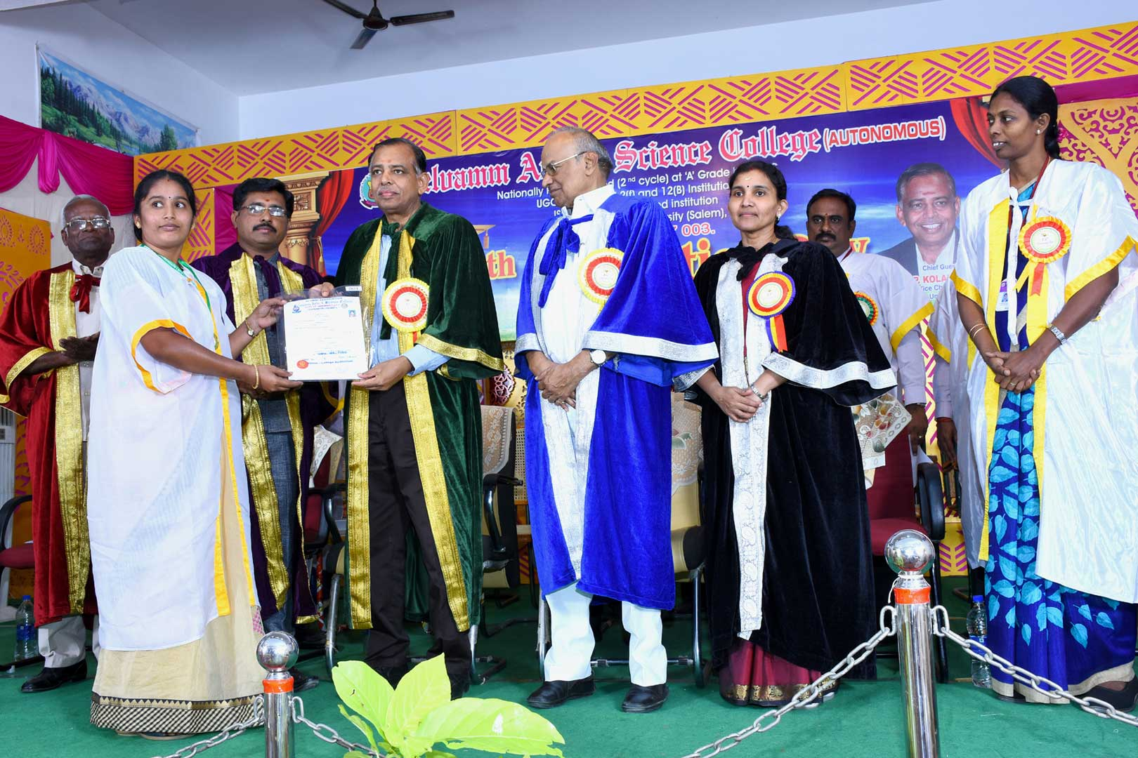 15th Convocation Ceremony held on 05.01.2019 @ College Premises.