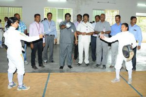 Periyar University Inter Collegiate Fencing Competition