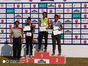 Reliance State level Athletic Meet Winner